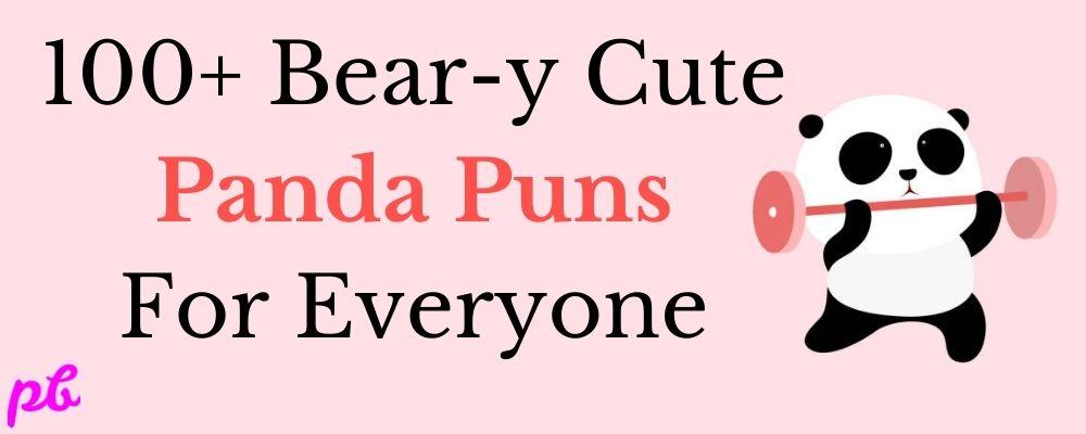 Panda Puns