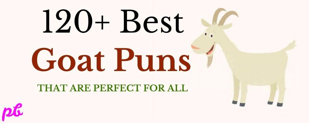 Best Goat Puns