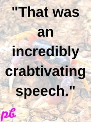 Crab rhymes