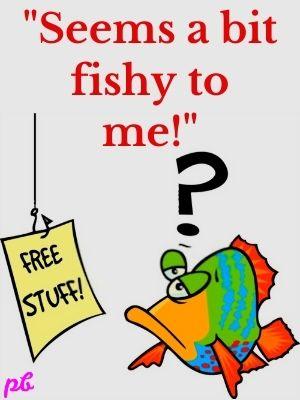 """""""Seems a bit fishy to me!"""""""