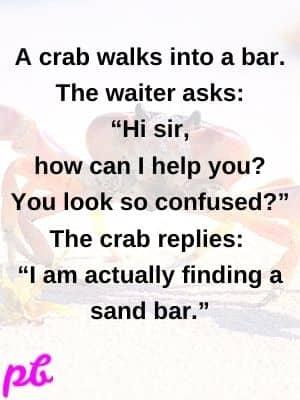 Short crab captions