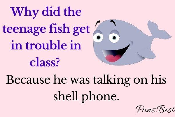fish jokes puns