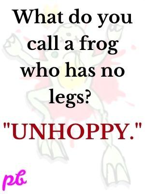frog who has no legs