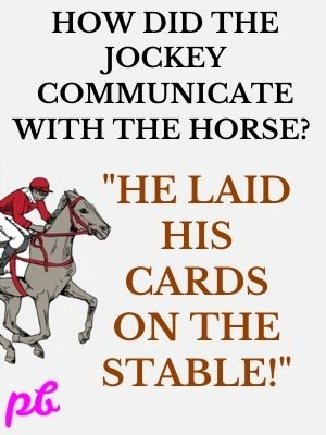 jockey communicate with the horse