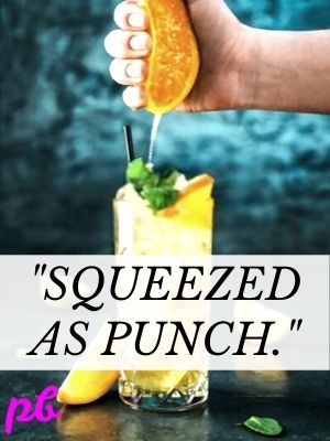 Squeezed as punch orange jokes