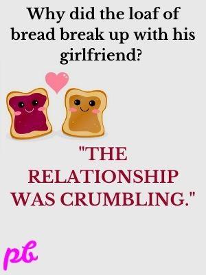 bread break up with his girlfriend