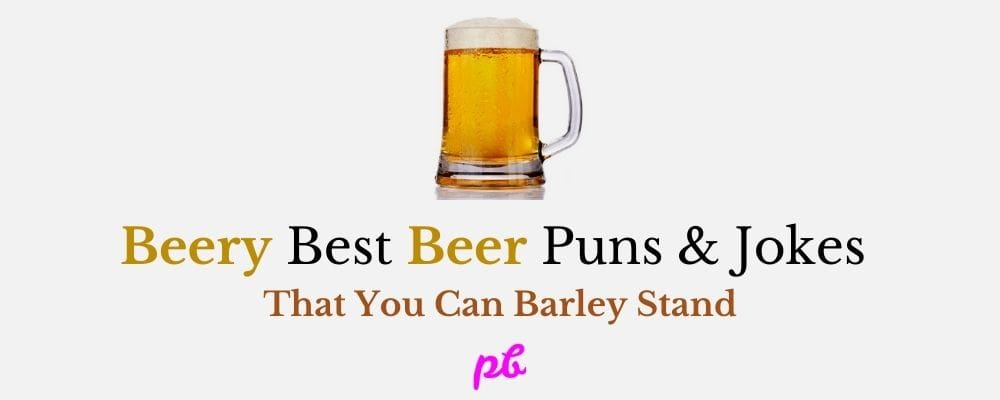 Best Beer Puns & Jokes