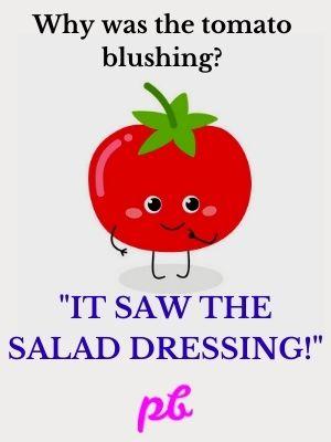 Tomato Salad Puns