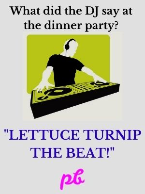 dinner party Puns