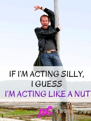 Funny Acting Silly Nut Puns Captions