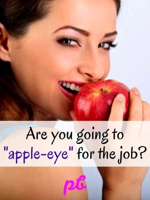 Funny Apple Eye Captions