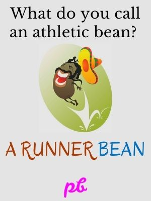 Funny Runner Bean Captions