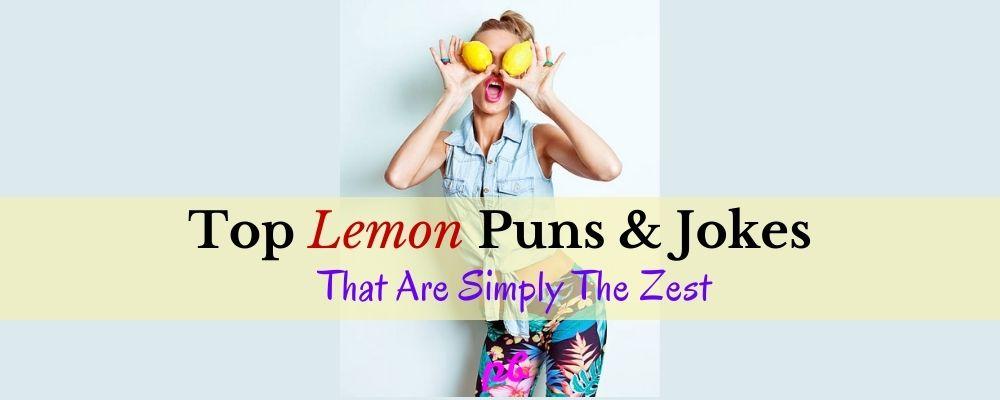 Lemon Puns & Jokes