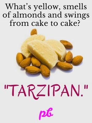 Marzipan Puns For Caption