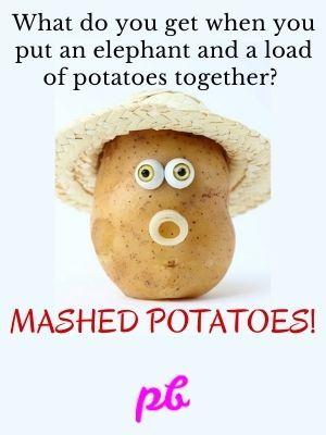 Mashed Potatoes Puns