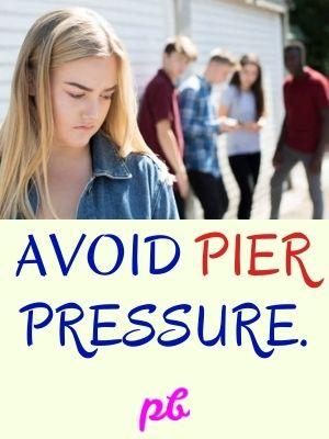 Peer Pressure Caption