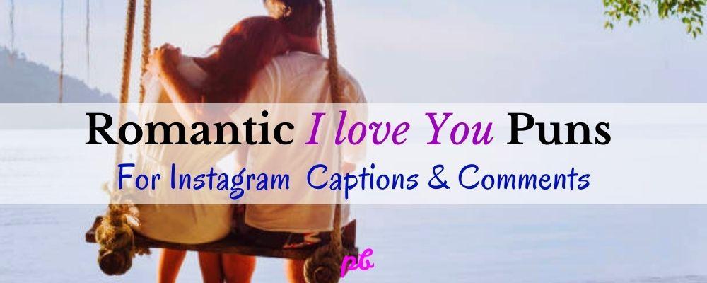 Romantic I love You Puns